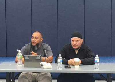 3 Puerto Rican Imams mental health and youth workshops at the Islamic Center of Cleveland